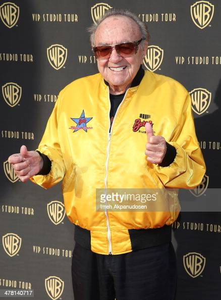 Designer George Barris attends the Warner Bros VIP Tour 'Meet The Family' Speaker Series at Warner Bros Tour Center on March 11 2014 in Burbank...