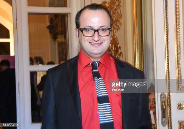 Designer Georges Bedran attends La Journee De La Mode Serbe at Ambassade de Serbie on July 13 2017 in Paris France