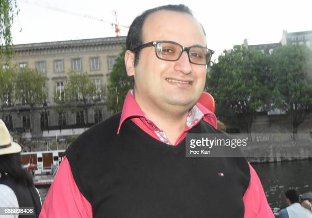 Designer Georges Bedran attends Photographer Ko Kok Birthday Party At Le Vert Galant Garden on April 9 2017 in Paris France