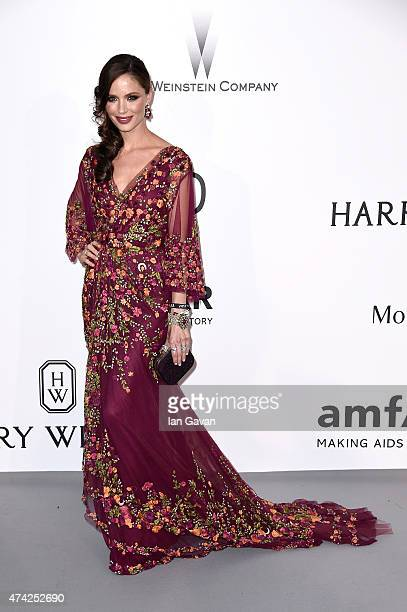 Designer Georgina Chapman attends amfAR's 22nd Cinema Against AIDS Gala Presented By Bold Films And Harry Winston at Hotel du CapEdenRoc on May 21...