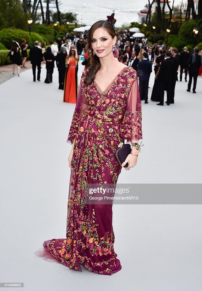 Designer Georgina Chapman attends amfAR's 22nd Cinema Against AIDS Gala Presented By Bold Films And Harry Winston at Hotel du CapEdenRoc on May 21