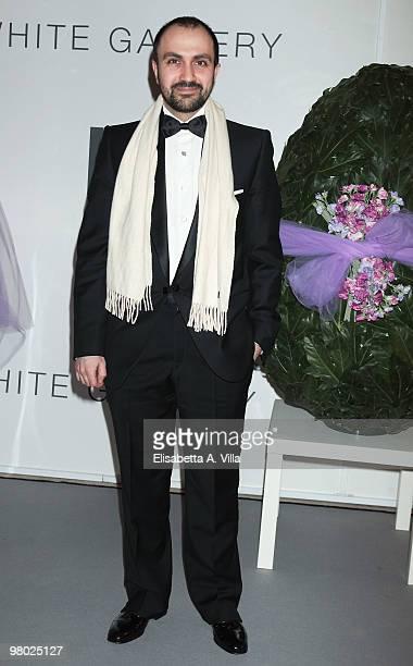 Designer Giampaolo Giannotti attends 'L'Arte Nell'Uovo Di Pasqua' Charity Event at the White Gallery on March 24 2010 in Rome Italy