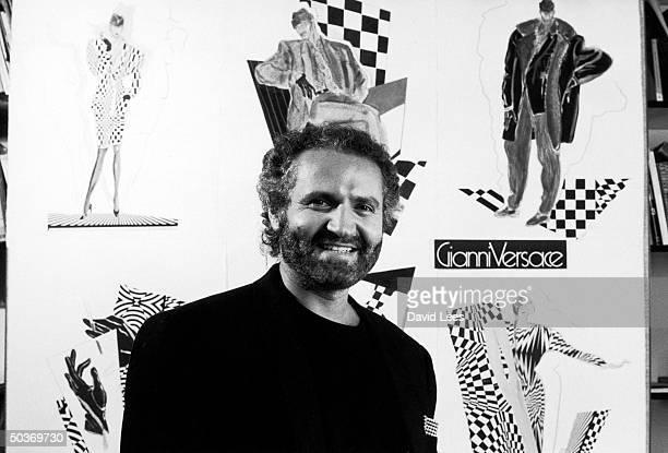 Designer Gianni Versace