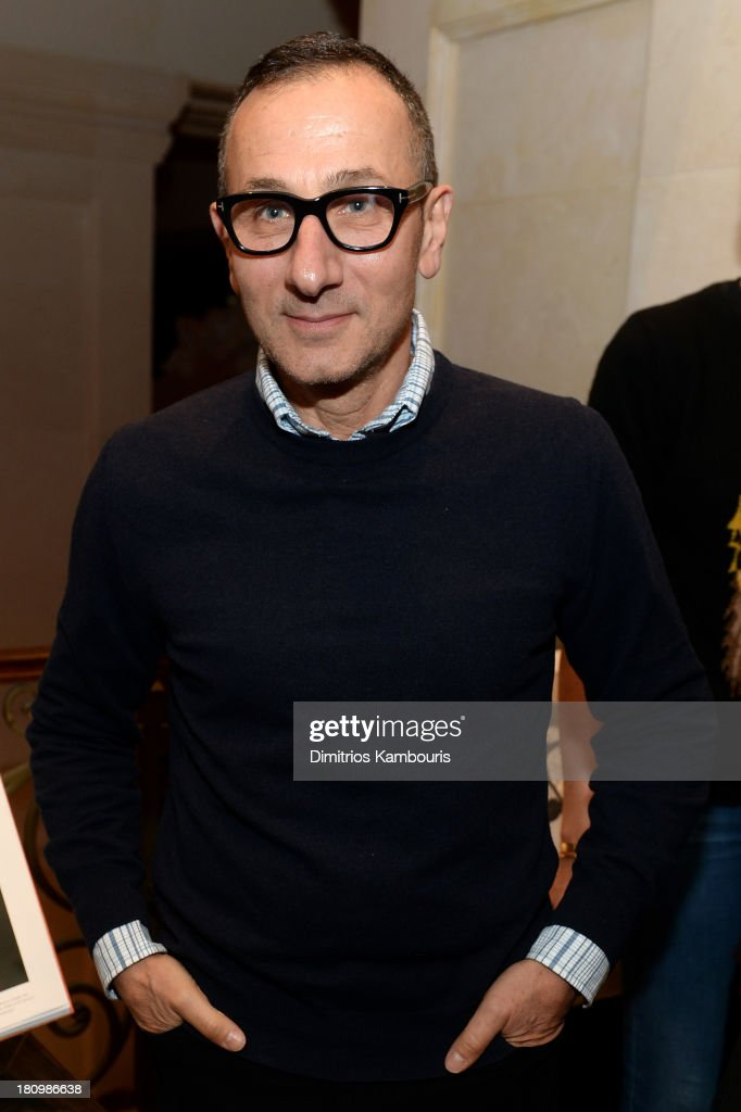 Designer <a gi-track='captionPersonalityLinkClicked' href=/galleries/search?phrase=Gilles+Mendel&family=editorial&specificpeople=638035 ng-click='$event.stopPropagation()'>Gilles Mendel</a> attends ASSOULINE, Martine and Prosper Assouline host a book signing for Ketty Pucci-Sisti Maisonrouge's 'The Luxury Alchemist' at Assouline at The Plaza Hotel on September 18, 2013 in New York City.