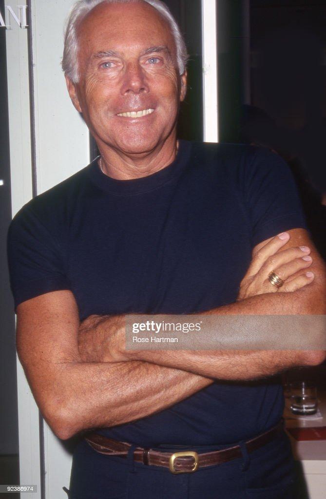 Giorgio Armani Profile, News, Images New national