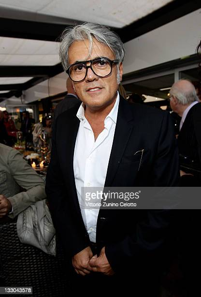 Designer Giuseppe Zanotti attends the Cavalli Boutique Opening during the 64th Annual Cannes Film Festival on May 18 2011 in Cannes France