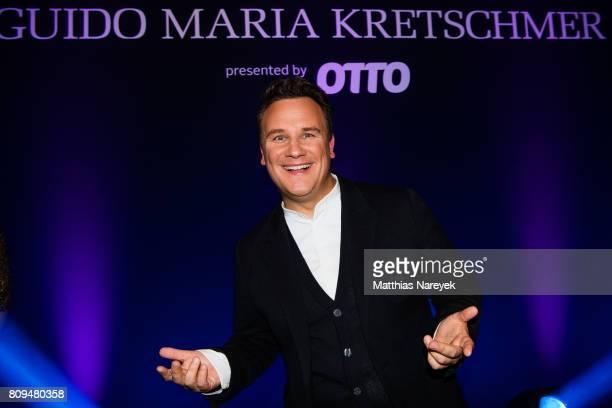 Designer Guido Maria Kretschmer attends the Guido Maria Kretschmer Fashion Show Autumn/Winter 2017 at Tempodrom on July 5 2017 in Berlin Germany