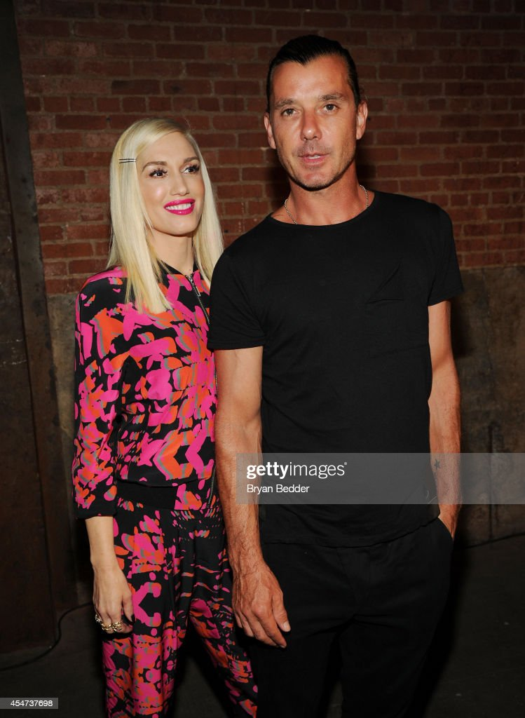Designer Gwen Stefani and Gavin Rossdale attend the LAMB presentation during MercedesBenz Fashion Week Spring 2015 on September 5 2014 in New York...