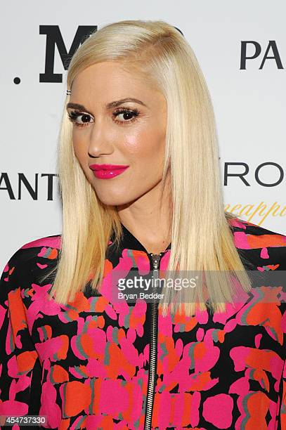 Designer Gwen Stefani attends the LAMB presentation during MercedesBenz Fashion Week Spring 2015 on September 5 2014 in New York City