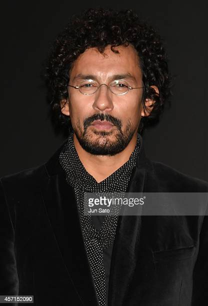 Designer Haider Ackermann attends the opening ceremony of MercedesBenz Fashion Week TOKYO 2015 S/S on October 13 2014 in Tokyo Japan