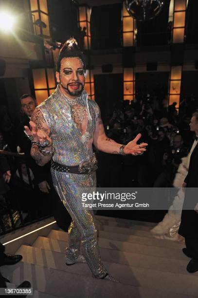 Designer Harald Gloeoeckler attends the 'Gloeoeckler presented by bonprix' collection Launch at 'Felix' on January 10 2012 in Berlin Germany