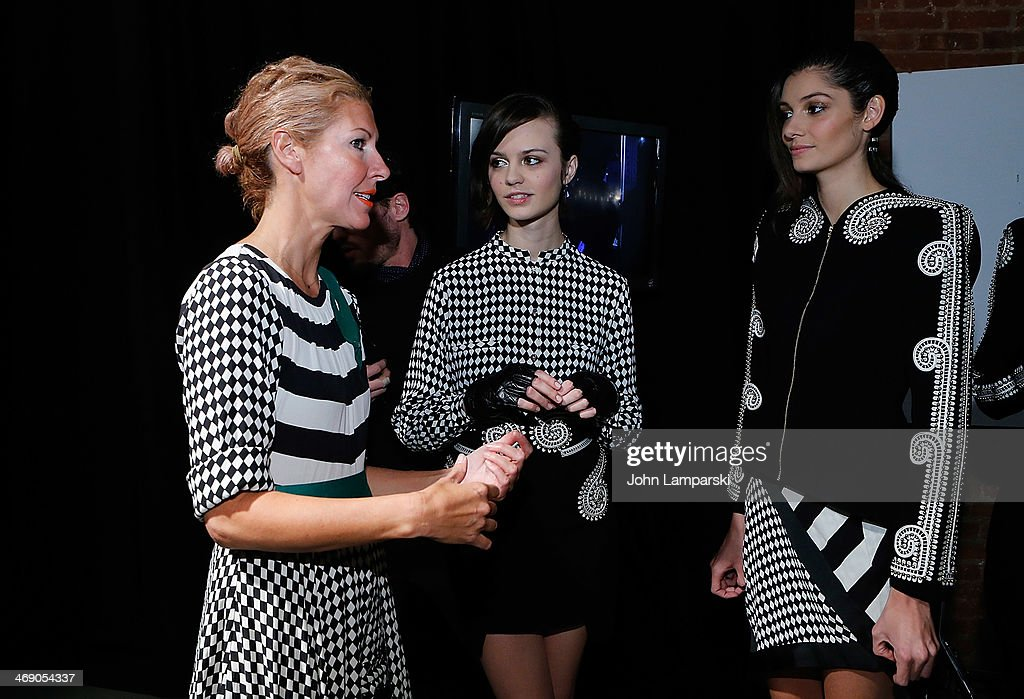 Designer <a gi-track='captionPersonalityLinkClicked' href=/galleries/search?phrase=Heidi+Middleton&family=editorial&specificpeople=212909 ng-click='$event.stopPropagation()'>Heidi Middleton</a> attends the Sass & Bide Show during Mercedes-Benz Fashion Week Fall 2014 at Classic Car Club on February 12, 2014 in New York City.