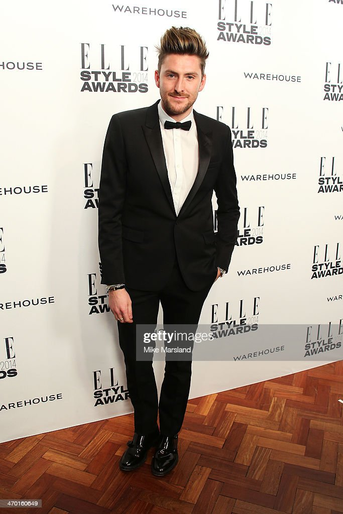Designer Henri Holland attends the Elle Style Awards 2014 at one Embankment on February 18, 2014 in London, England.