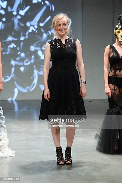 Designer Irene Luft appears on the runway at The Last Ship Survival Is An Art at DIA 545 on June 19 2014 in New York City JPG