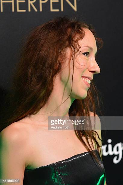 Designer Iris Van Herpen attends Dom Perignon Metamorphosis by Iris Van Herpen at Pioneer Works on September 3 2014 in New York City