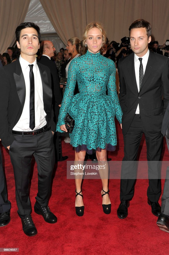 Designer Jack McCollough, actress Chloe Sevigny and Lazaro Hernandez attend the Costume Institute Gala Benefit to celebrate the opening of the 'American Woman: Fashioning a National Identity' exhibition at The Metropolitan Museum of Art on May 3, 2010 in New York City.