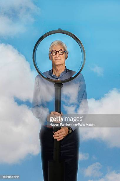 Designer James Dyson is photographed for Paris Match on June 11 2014 in Paris France