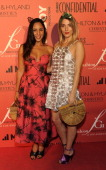 Designer Jasmin Larian of Cult Gaia and her muse fashion stylist Jessy arrive at the 5th Annual Designer The Muse Hosted By Kathy Hilton at Mr C...