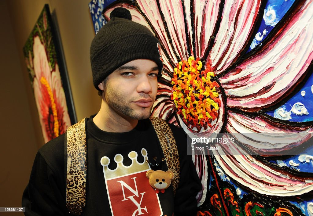 Designer Jason Christopher Peters attends the Same Sky Holiday Benefit Reception at Ana Tzarev Gallery on December 14, 2012 in New York City.