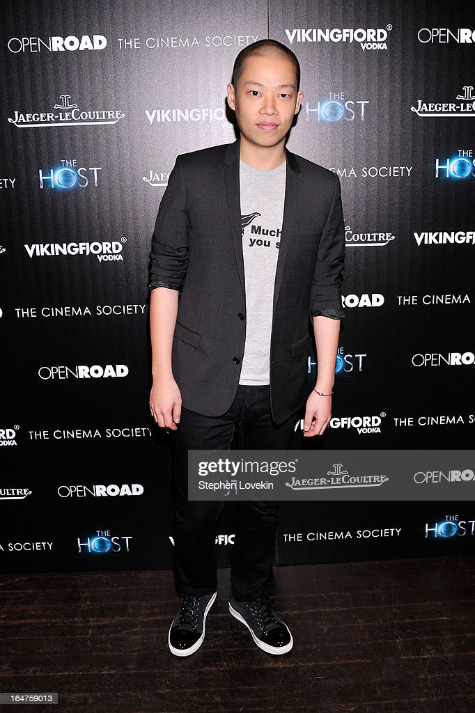 Designer Jason Wu attends The Cinema Society & Jaeger-LeCoultre Hosts A Screening Of 'The Host' at Tribeca Grand Hotel on March 27, 2013 in New York City.