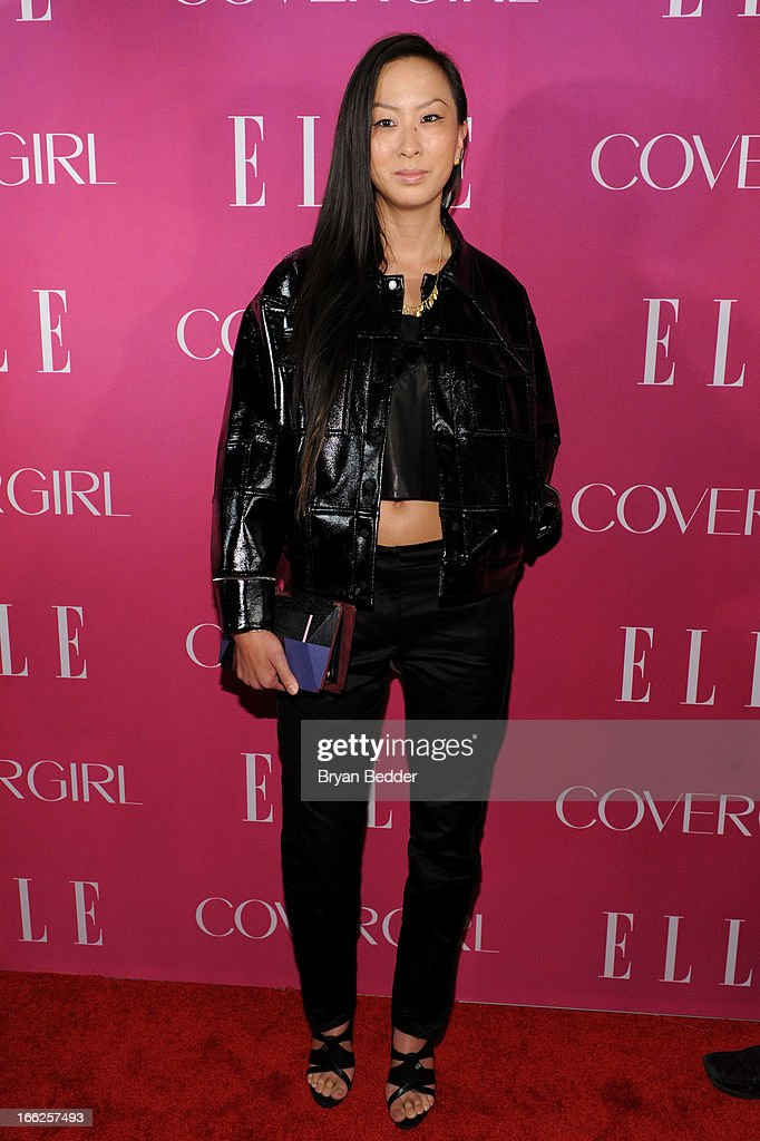 Designer Jen Kao attends the 4th Annual ELLE Women in Music Celebration at The Edison Ballroom on April 10, 2013 in New York City.