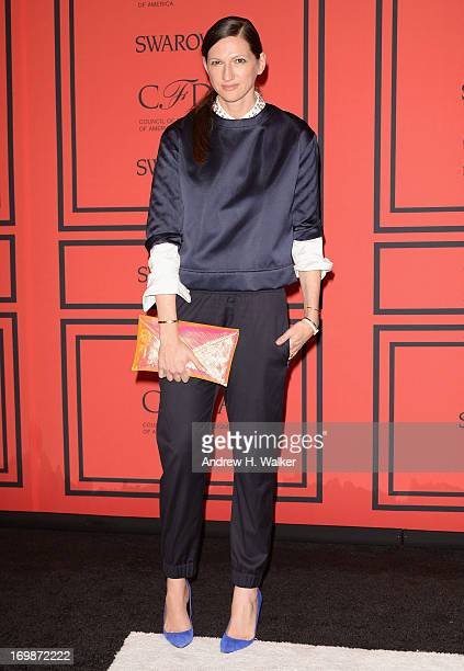 Designer Jenna Lyons attends the 2013 CFDA Fashion Awards on June 3 2013 in New York United States