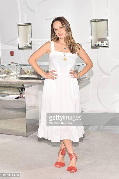 Designer Jennifer Meyer attends Barneys New York hosts Jennifer Meyer to celebrate the exclusive RTW Capsule Collection Barney New York XO Jennifer...