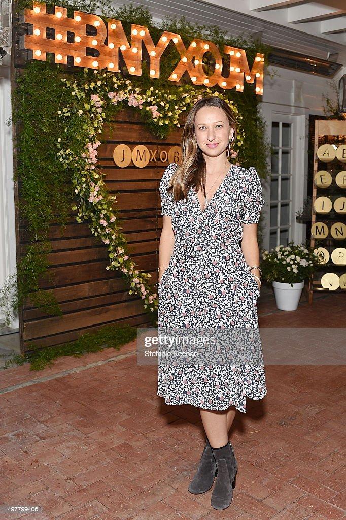 Designer Jennifer Meyer attends Barneys New York Jennifer Aniston and Tobey Maguire host a private dinner to celebrate The Barneys New York XO...