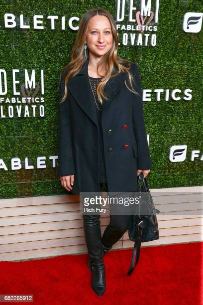 Designer Jennifer Meyer attends the launch of Fabletics Capsule Collection at the Beverly Hills Hotel on May 10 2017 in Los Angeles California