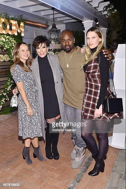 Designer Jennifer Meyer TV Personality Kris Jenner Corey Gamble and actress Sara Foster attend Barneys New York Jennifer Aniston and Tobey Maguire...