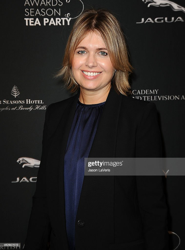 Designer Jenny Packham attends the BAFTA LA 2014 awards season tea party at Four Seasons Hotel Los Angeles at Beverly Hills on January 11, 2014 in Beverly Hills, California.