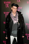 Designer Jeremy Scott arrives at the Belvedere IX Launch Party on February 5 2009 in Hollywood California