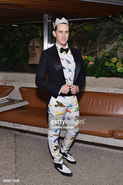 Designer Jeremy Scott attends Jeremy Scott For Longchamp 10th Anniversary held at a Private Residence on November 5 2015 in Beverly Hills California