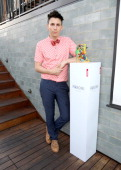 Designer Jerome Rousseau attends Peroni presents footwear designer Jerome Rousseau's 5th anniversary party at Petit Ermitage Hotel on September 3...