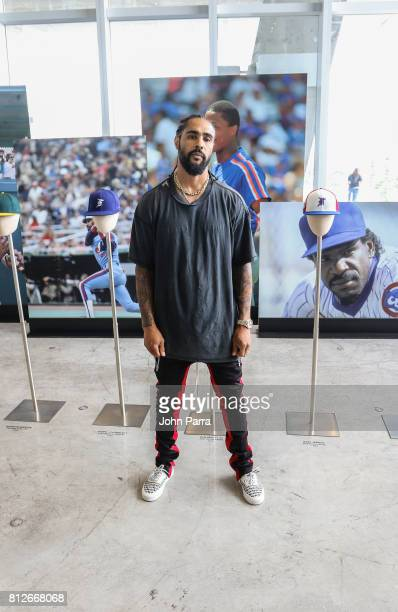 Designer Jerry Lorenzo hosts the New Era Cap X Fear Of God Pop Up at Alchemist on July 10 2017 in Miami Beach Florida