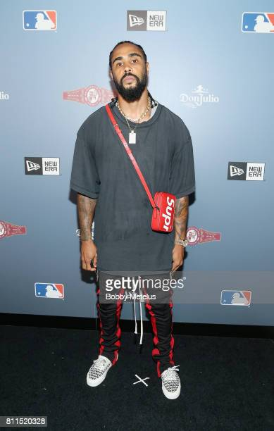 Designer Jerry Lorenzo New Era Cap MLB AllStar Party 2017 at Beachcraft at 1 Hotel South Beach on July 9 2017 in Miami Beach Florida