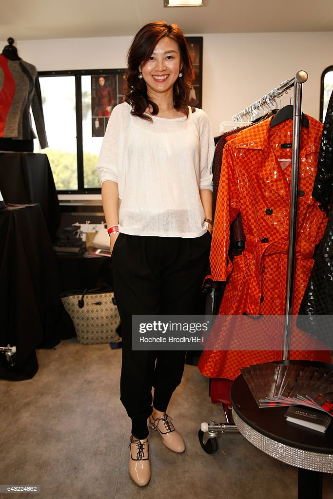 Designer Jessie Liu attends the BETX gifting suite during the 2016 BET Experience on June 26, 2016 in Los Angeles, California.