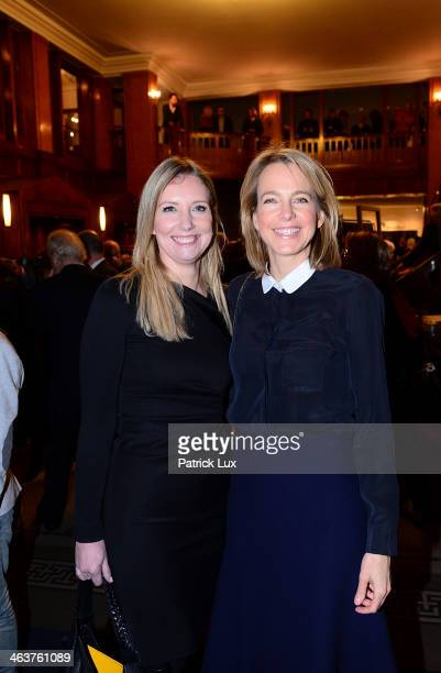 Designer Jette Joop and Julia Jaeckel CEO of Gruner und Jahr publishers house at a celebration hosted by Die Zeit newspaper on the occasion of...