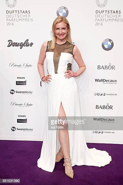 Designer Jette Joop attends the Duftstars 2016 at Kraftwerk Mitte on May 12 2016 in Berlin Germany