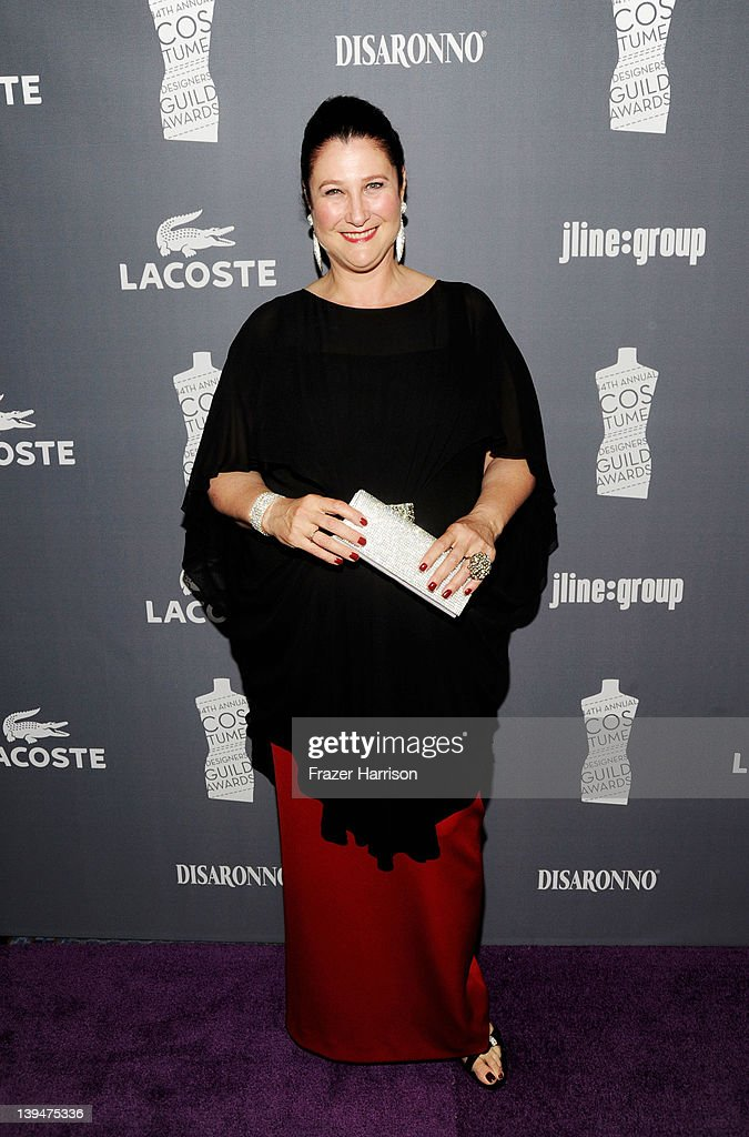 Designer Jill Ohanneson arrives at the 14th Annual Costume Designers Guild Awards With Presenting Sponsor Lacoste held at The Beverly Hilton hotel on February 21, 2012 in Beverly Hills, California.