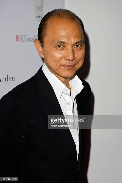 Designer Jimmy Choo attends Elizabeth Arden's Eight Hour Party at Twentyfour August 7 2008 in London England