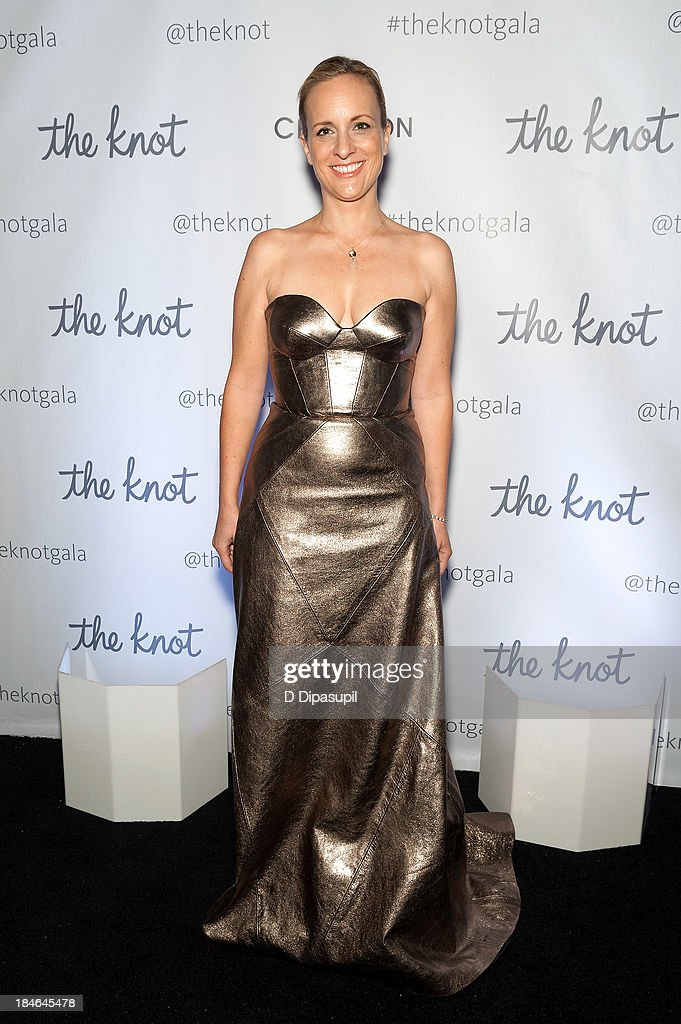 Designer Johanna Johnson attends The Knot Gala at the New York Public Library Astor Hall on October 14 2013 in New York City