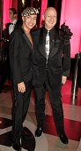 Designer John Galliano and Stephen Jones attends The Golden Age Of Couture VIP Gala at the Victoria Albert Museum September 18 2007 in London England
