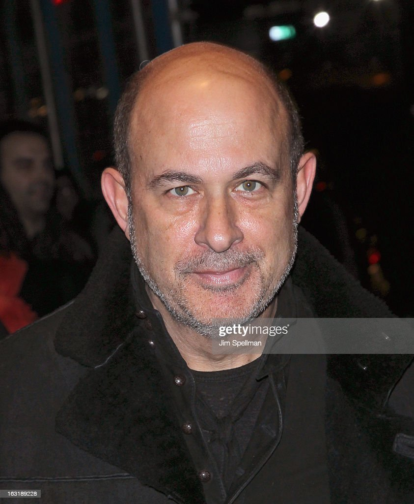 Designer John Varvatos attends the Gucci and The Cinema Society screening of 'Oz the Great and Powerful' at the DGA Theater on March 5, 2013 in New York City.