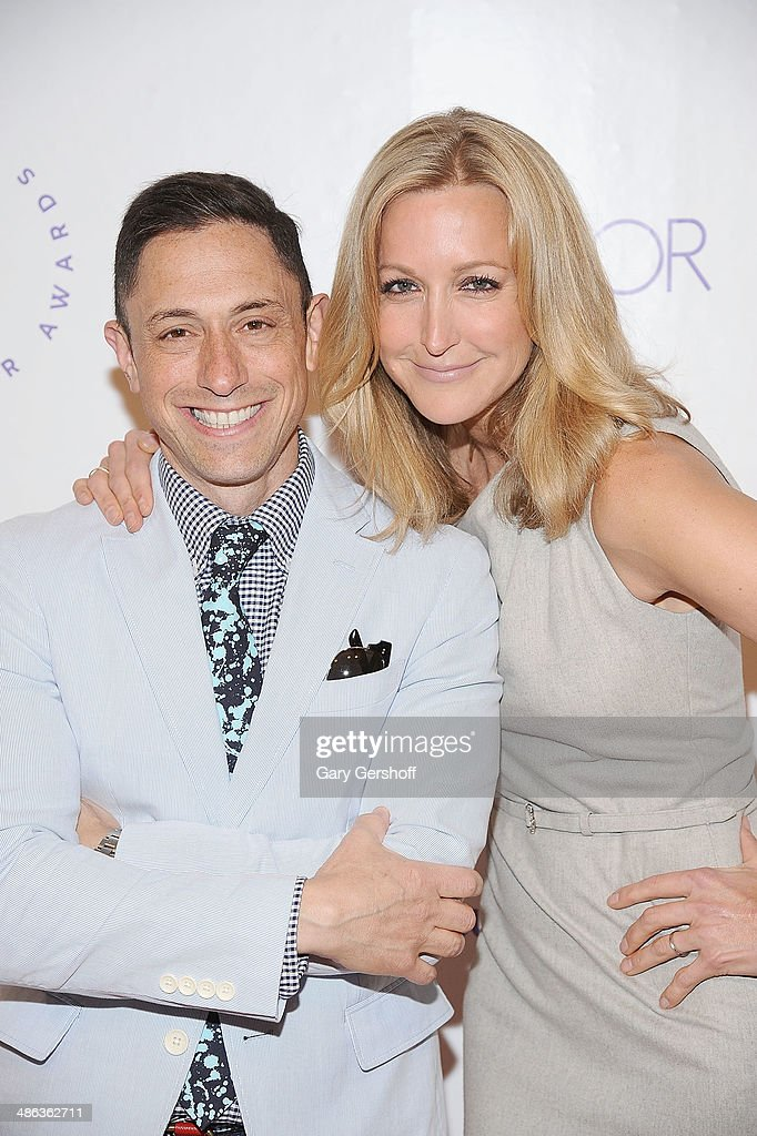 Designer <a gi-track='captionPersonalityLinkClicked' href=/galleries/search?phrase=Jonathan+Adler&family=editorial&specificpeople=2257680 ng-click='$event.stopPropagation()'>Jonathan Adler</a> (L) and event honoree <a gi-track='captionPersonalityLinkClicked' href=/galleries/search?phrase=Lara+Spencer+-+Journalist&family=editorial&specificpeople=240321 ng-click='$event.stopPropagation()'>Lara Spencer</a> attend Housing Works Groundbreaker Awards Dinner at The Metropolitan Pavillion on April 23, 2014 in New York City.