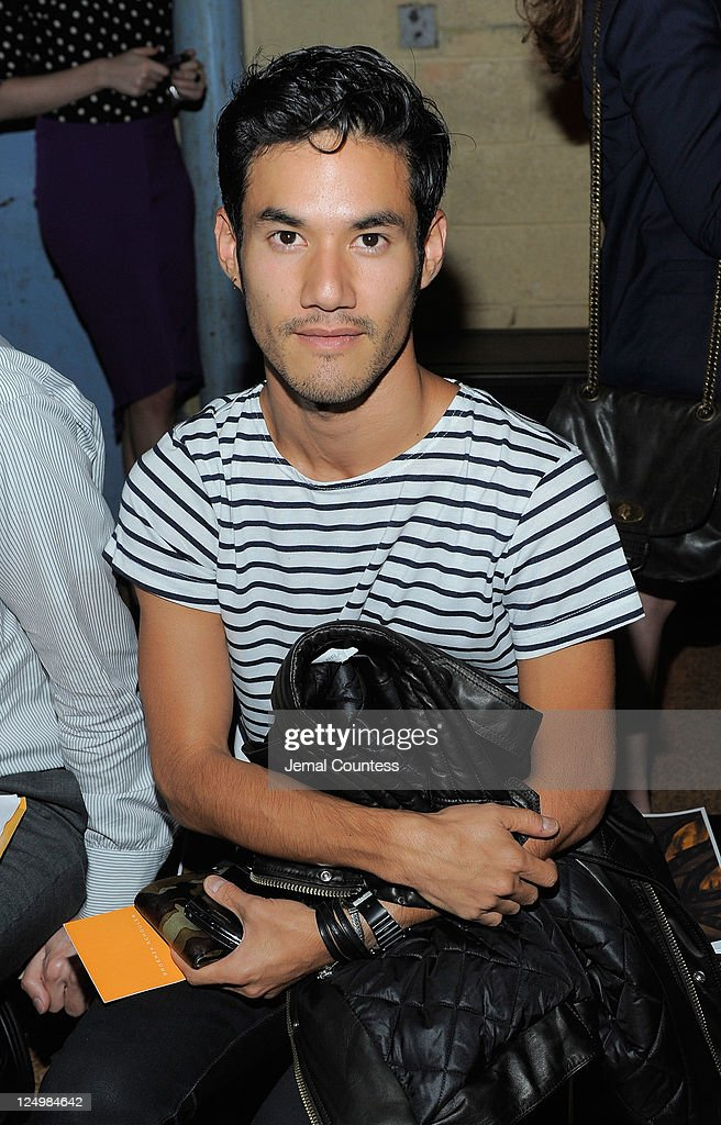 Designer Joseph Altuzarra attends the Proenza Schouler Spring 2012 fashion show during Mercedes-Benz Fashion Week at 330 West St. on September 14, 2011 in New York City.