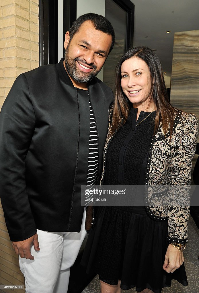 crystal lourd katherine ross and barneys new york host a luncheon with juan carlos obando. Black Bedroom Furniture Sets. Home Design Ideas
