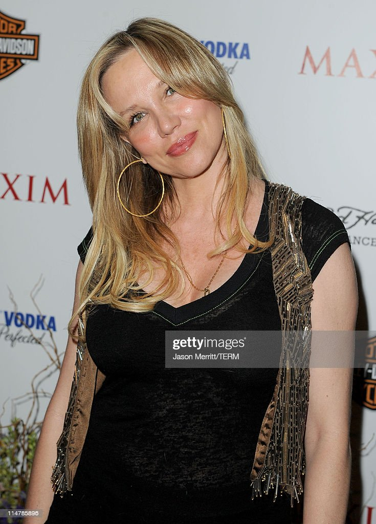 Designer Kari Whitman arrives at the 11th annual Maxim Hot 100 Party with Harley-Davidson, ABSOLUT VODKA, Ed Hardy Fragrances, and ROGAINE held at Paramount Studios on May 19, 2010 in Los Angeles, California.