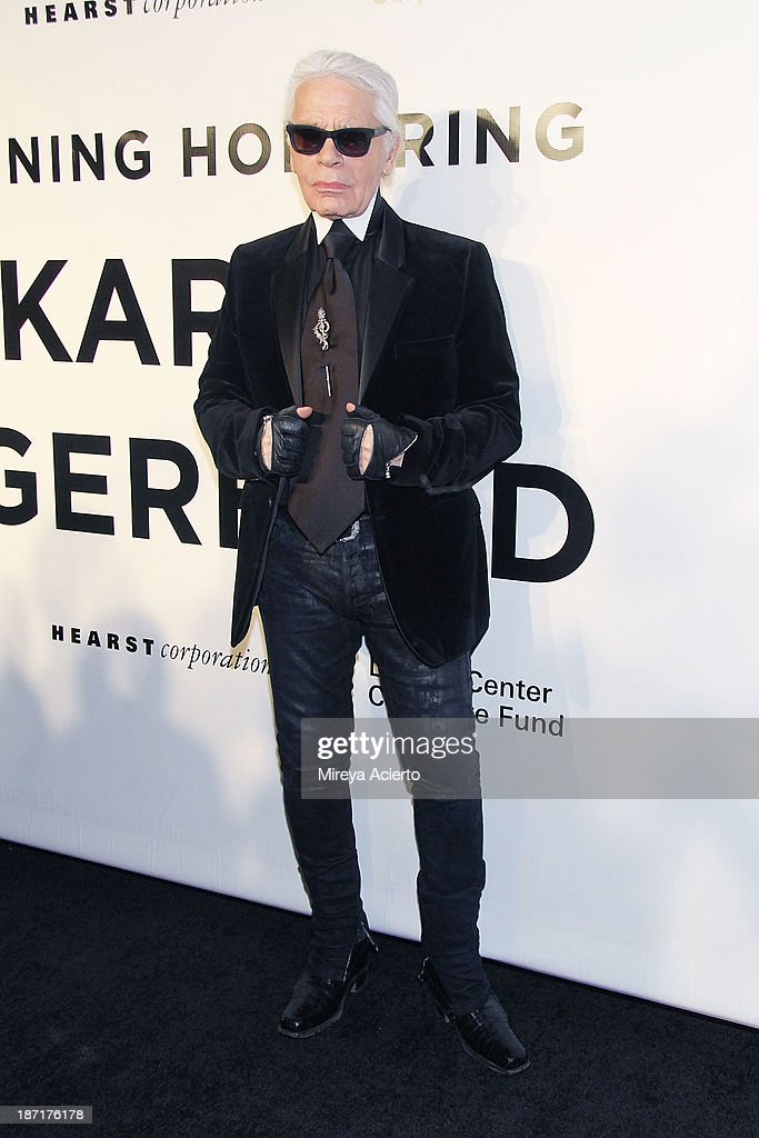Designer Karl Kagerfeld attends An Evening Honoring Karl Lagerfeld at Alice Tully Hall on November 6, 2013 in New York City.