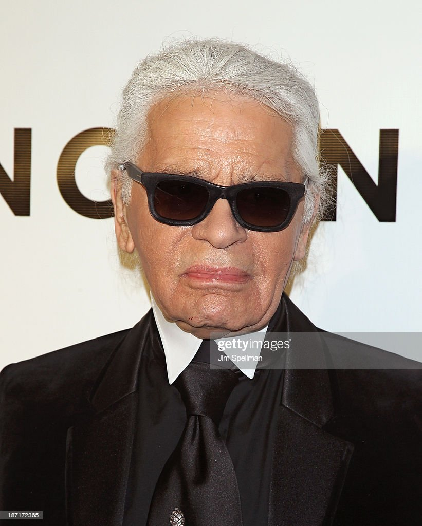 Designer Karl Lagerfeld attends An Evening Honoring Karl Lagerfeld at Alice Tully Hall on November 6, 2013 in New York City.